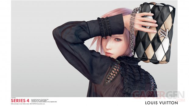 Lightning Final Fantasy XIII Louis Vuitton (2)