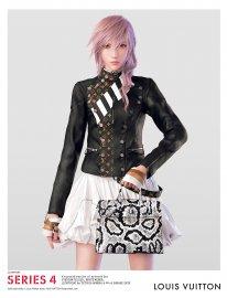 Lightning Final Fantasy XIII Louis Vuitton (3)