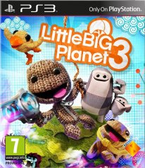 LittleBigPlanet 3 jaquette ps3