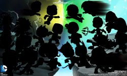 LittleBigPlanet DC Comics Premium Level Pack 13 12 2013 art 1