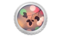 logo app Sony floutage arriere plan