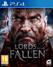 Lords of the fallen jaquette PEGI PS4