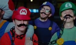 Luigi clash Mario Norman head