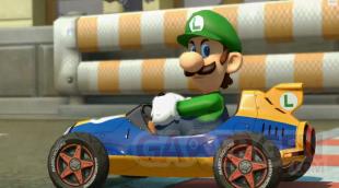 Luigi regard de tueur dans Mario Kart 8