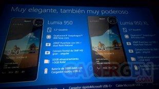 Lumia 950 950Xl Fuite Caractéristiques