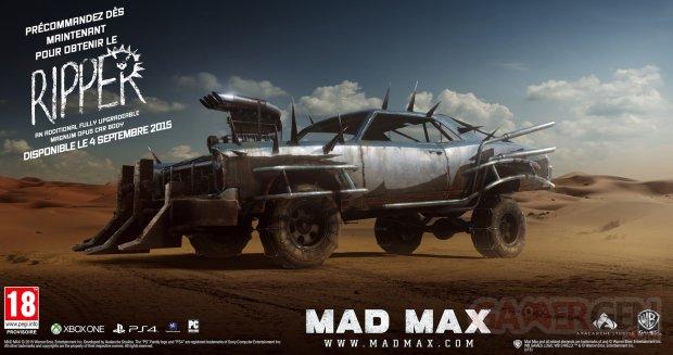 Mad Max bonus de pre?commande
