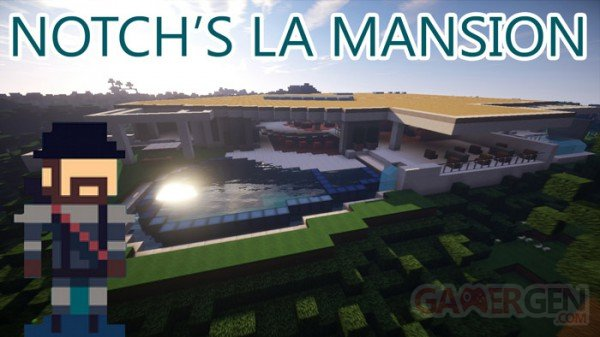 Maison Notch Minecraft