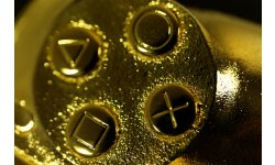 Manette d'Or PlayStation 3
