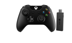 Manette Xbox One + adaptateur