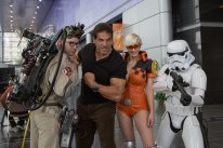 marie claude bourbonnais lou ferigno hulk star wars ghostbusters cosplay comiccon quebec 2015