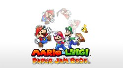 Mario & Luigi Paper Jam Bros art