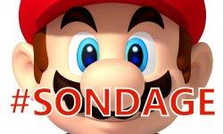 Mario Nintendo Sondage 1