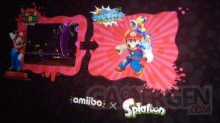 Mario Sunshine in Splatoon