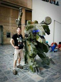 Metal Gear REX cosplay 3