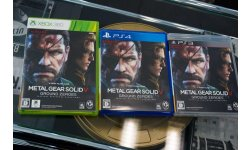 Metal Gear Solid V Ground Zeroes jaquettes