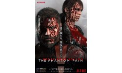 Metal Gear Solid V The Phantom Pain affiche
