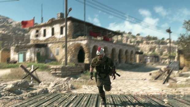 Metal Gear Solid V The Phantom Pain chapeau poulet images screenshots 1