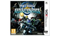 Metroid Prime Federation Force jaquette