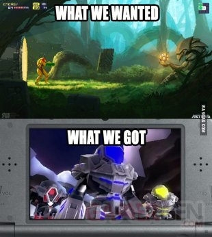 metroid prime federation force troll