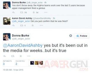 MGS V Donna Burke