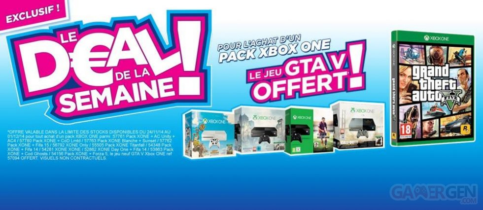 actualites bon plan pack bundle ps playstation vita xbox one solde deal black friday christmas noel micromania