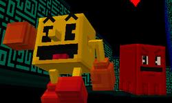Minecraft : un DLC Pac-Man avec des niveaux cubiques en 3D pour les 40 ans de la saga