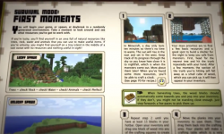 Minecraft Handbook first moments
