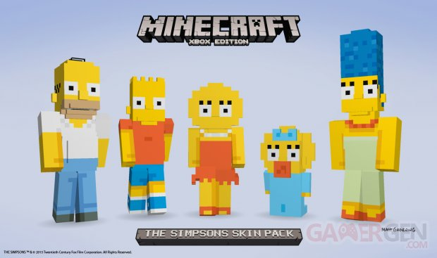 Minecraft Simpson images screenshots 2