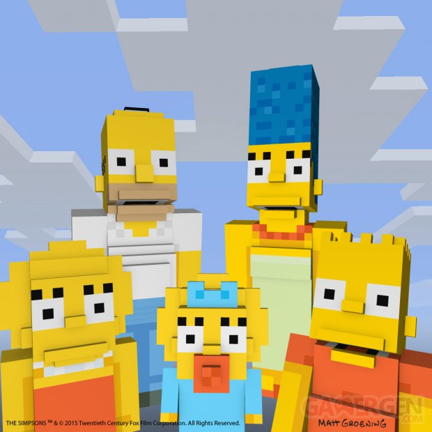 Minecraft Simpson images screenshots 3