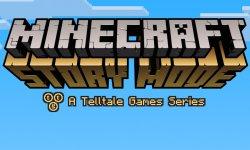 Minecraft Story Mode 18 12 2014 logo head