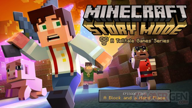 Minecraft Story Mode A Block and a Hard Place 13 12 2015 art (1)