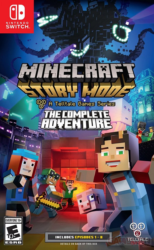 Minecraft The Complete Adventure sur Switch