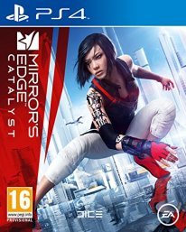 Mirror Mirrors Edge Catalyst Jaquette Cover PS4
