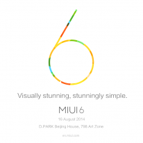 MIUI v6 slogan