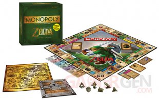 monopoly zelda pack complet collector gamestop