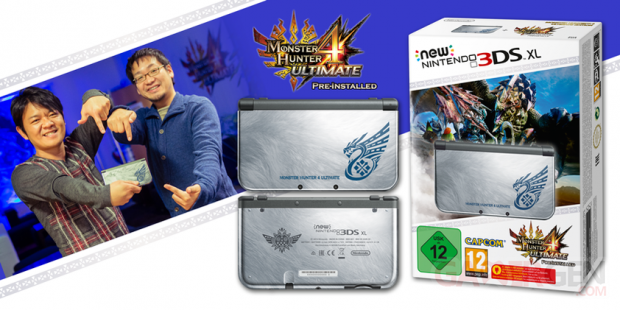 Monster Hunter 3DS XL New