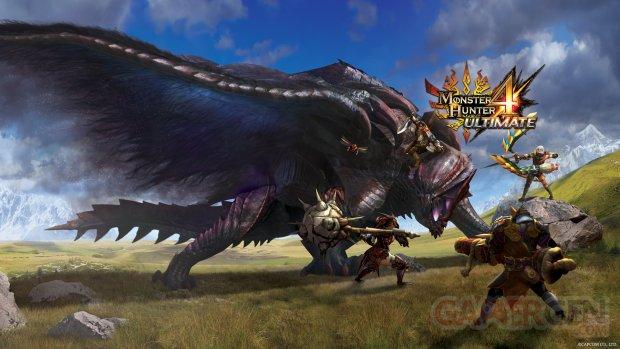 Monster Hunter 4 Ultimate 31 07 2014 artwork