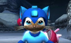 Monster Hunter X Mega Man head