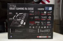 MSI Z170A Krait Gaming R6 Siege Rainbow Six Ubisoft Carte mère Motherboard Intel  Unboxing Déballage Présentation Images Photos GamerGen com Clint008 (26)