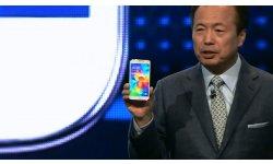 MWC Samsung UNPACKED JK Shin Galaxy S5 officialise