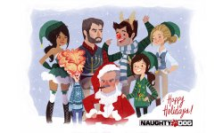 Naughty Dog Fêtes Noel 2013 2014