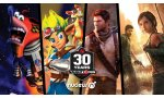 naughty dog sony computer entertainment video commemorative 30 ans anniversaire