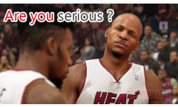 NBA 2K14 serious