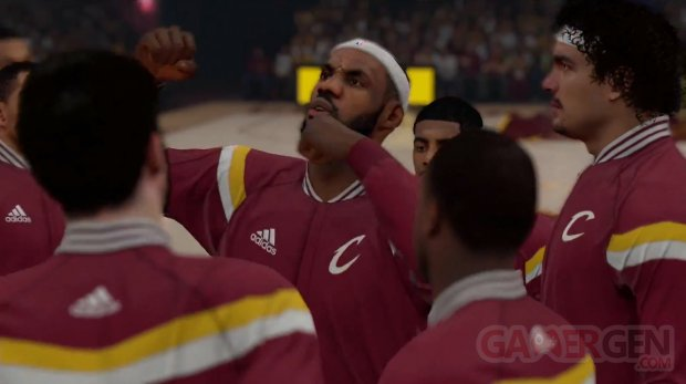 NBA 2K15 CLeveland Cavaliers starters 2