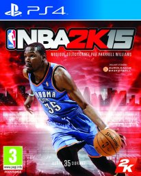NBA 2K15 jaquette PEGI PS4