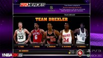 NBA 2K15 Mode Hero team drexler