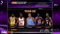 NBA 2K15 Mode Hero team KD