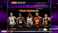 NBA 2K15 Mode Hero team robinson