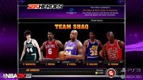 NBA 2K15 Mode Hero team shaq