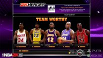 NBA 2K15 Mode Hero team worthy